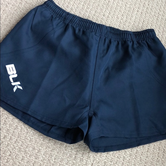BLK rugby shorts